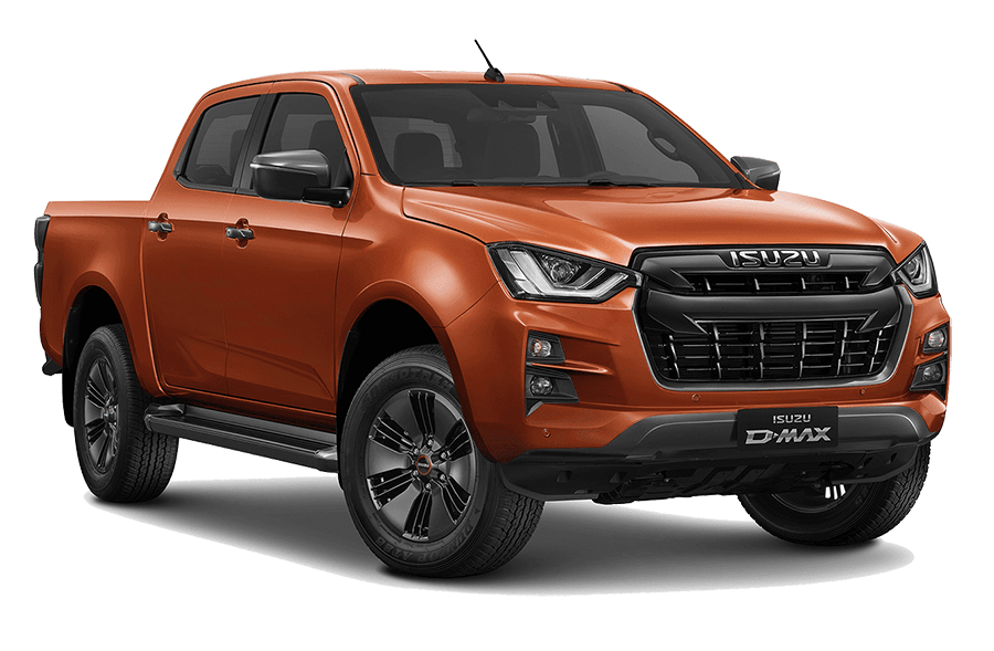 ISUZU D-Max N60FF Valencia orange Metallic
