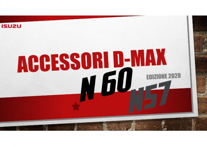Accessori D-Max Isuzu