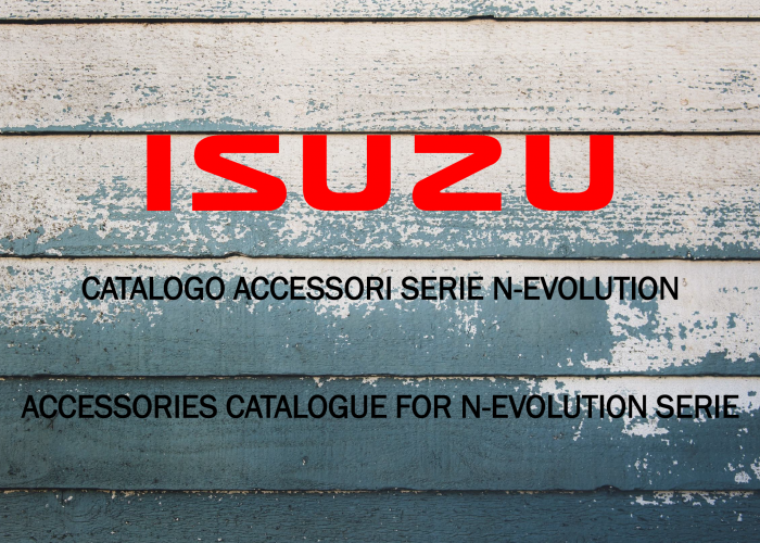 Isuzu Catalogo Accessori Truck 2019
