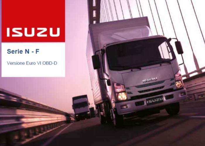 Catalogo e listino prezzi Isuzu Truck Versione Euro VI OBD-D